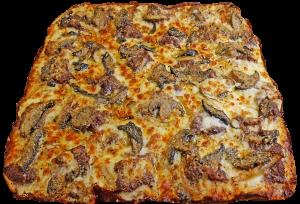 Full Three Cheese Steak Pizza