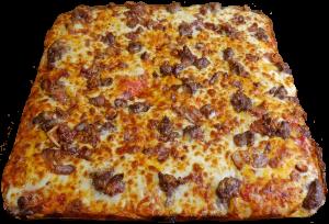 Full Bacon Cheeseburger Pizza