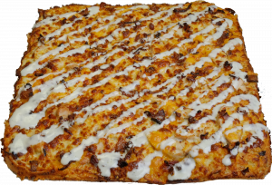 Full Chicken Bacon Ranch Pizza