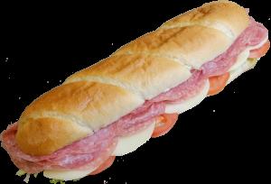 12 Inch Salami Sub