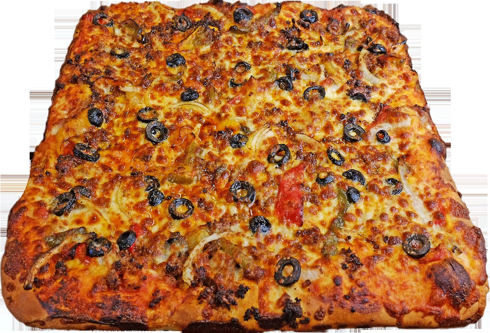 Full Taco Pizza